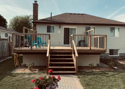 Deck Construction: Finished