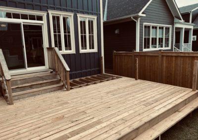 Windfall, Blue Mountain Deck: Construction 2