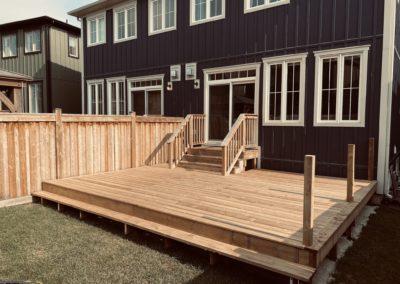 Windfall, Blue Mountain Deck: Construction 3