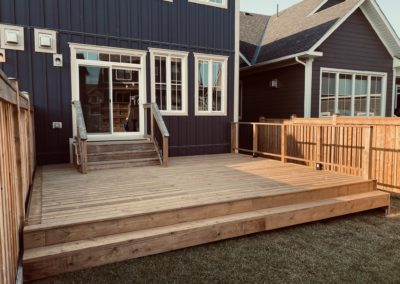 Windfall, Blue Mountain Deck: Finished 2
