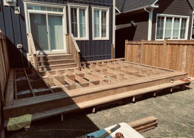 Windfall, Blue Mountain Deck: Framing 1