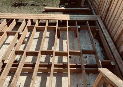 Windfall, Blue Mountain Deck: Framing 2
