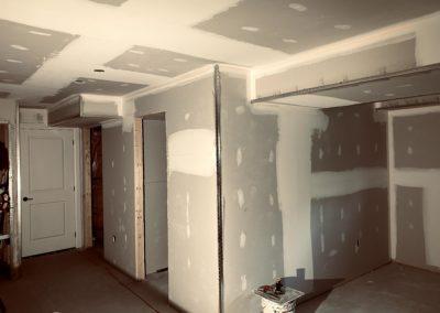 Windfall, Blue Mountain 2 - Drywall taping 1