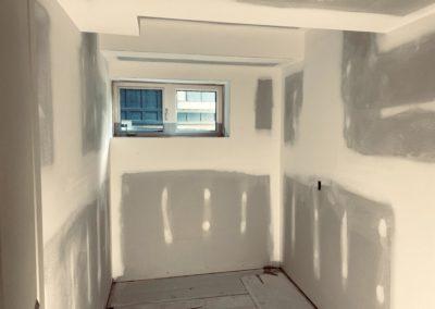 Windfall, Blue Mountain 2 - Drywall taping 4
